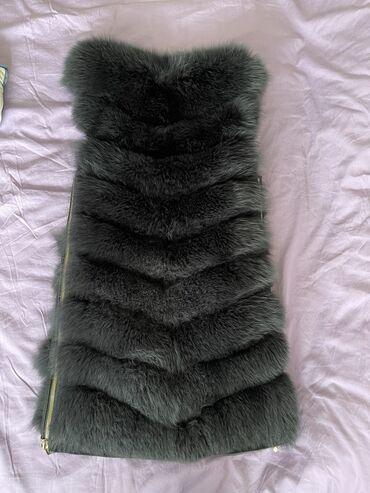 Продаю меховой жилет (меховая жилетка) мех натуральный цельный