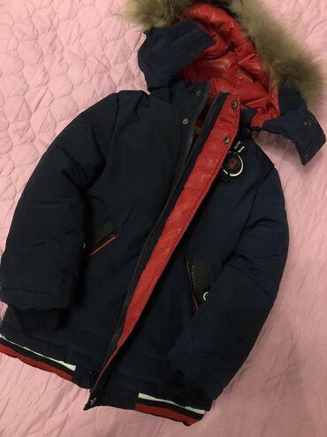 Продаю детскую куртку на 3-4 года! Надевали 2 раза, очень тёплая и удо