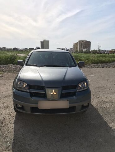 Mitsubishi в Кыргызстан: Mitsubishi Outlander 2.4 л. 2003 | 1111 км
