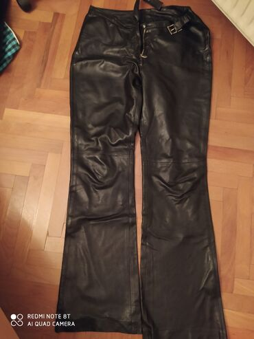 Pantalone kozne - Srbija: Kozne pantalone bez ostecenja 40/28/106