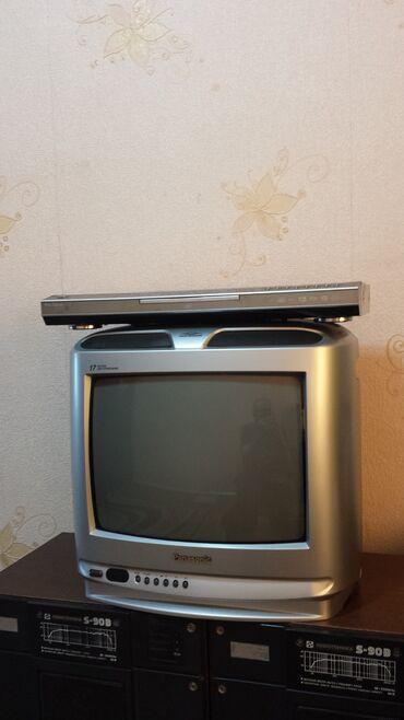 Телевизор PANASONIC и DVD плеер PARAGON DV- 947K. 1200сом
