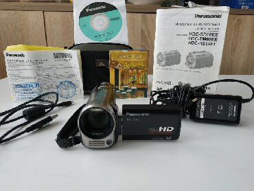 full hd видеокамеры в Азербайджан: Panasonic HDC-SD60 FULL HD 1920×1080SUPER CEKILIS EDIR. Optim