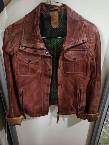 Кожанная куртка, покупали за 250$ в Индии