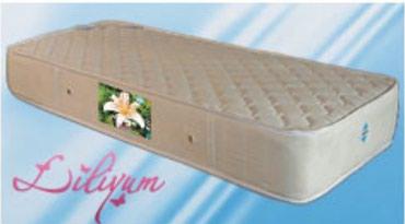 Lilyum döşək.Kod:124 Soft (yarı sərt) ortopedik yaylı yataqdır.24 sm