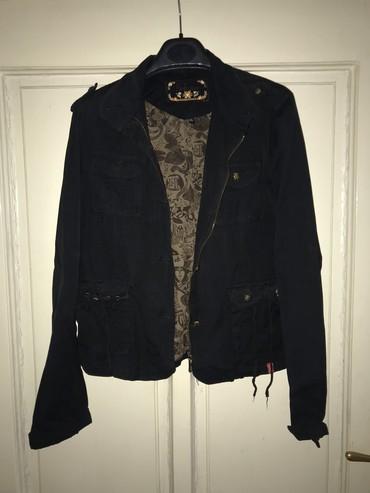 Jesenja-zenska-suskava-jaknica-broj-pisite-inox - Srbija: Zenska jaknica, kao nova