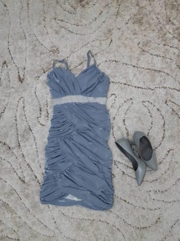 короткое платье на свадьбу в Кыргызстан: Платье короткое, выше колен. Надевалось 1 раз на свадьбу. Цена 300с