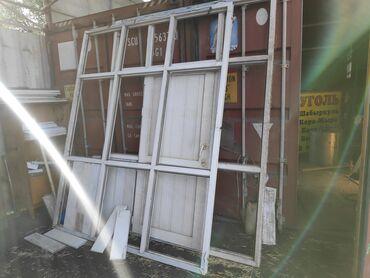 Сушилки - Кыргызстан: Пластиковые окна терезе эшик айнекстан дверь размер 270×240