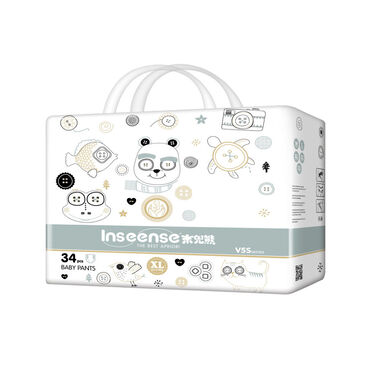 сумка-кенгуру-для-ребенка-цена в Кыргызстан: Inseense трусики V5S XL (12-17кг) 34 шт. Трусики Пол для девочки, для