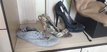 Туфли босоножки кеды отдам за 200 сом размер 37-38 в Кок-Ой