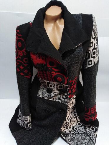 Ruska kapa - Srbija: ITALY kaput prelep model,kombinacija kvalitetnih materijala,kopčanje