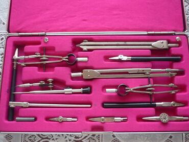 Другие предметы коллекционирования - Азербайджан: Советская готовальня НЧК-14-1-01