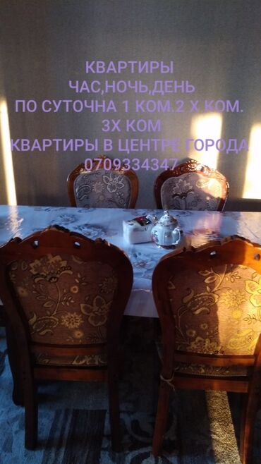 �������� ������ �������� �� �������������� �������� in Кыргызстан | ПОСУТОЧНАЯ АРЕНДА КВАРТИР: 1 комната, Туалет, Без животных