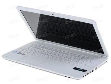 блоки питания для ноутбуков toshiba в Кыргызстан: Toshiba C850 Белого Цвета Core i3-3120M 2.5GHz4GB Оперативной