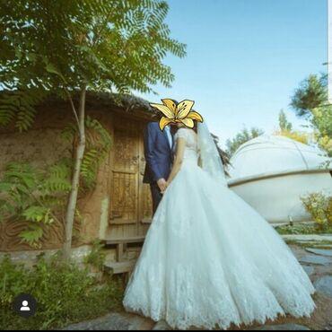 продажа кафе в Кыргызстан: Сдаю свадебное платье напрокат +есть фата. Платье в идеальном