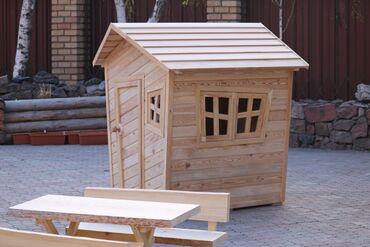 садовые растения в Кыргызстан: Изготовление деревянных изделий!! Детские домики!! Под заказ!! На фото