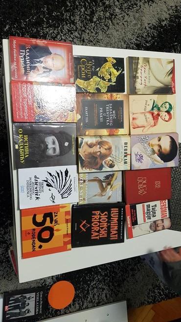 Ostalo   Loznica: Knjiga. Knjige.Ocuvane. Super stanje. Pola su prodate ostale samo ove