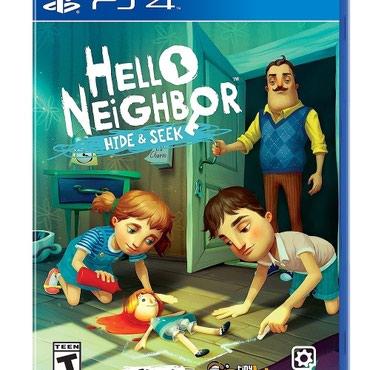 Bakı şəhərində Hello neighbor hide seek