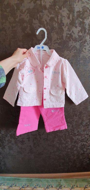 Наборы в Лебединовка: Новый костюм для девочек на 2-3 года. Ткань типа джинсы. 400 сом за ко