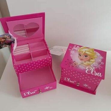 Kutija za nakit sa ogledalcem Cena 1.350