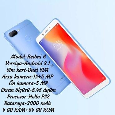 Xiaomi Redmi 6 в Bakı