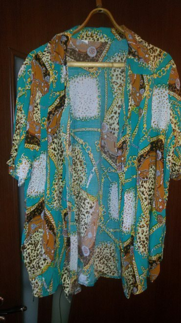 Рубашка жен. штапель разм.50-52 сост отл.,даже не одевала
