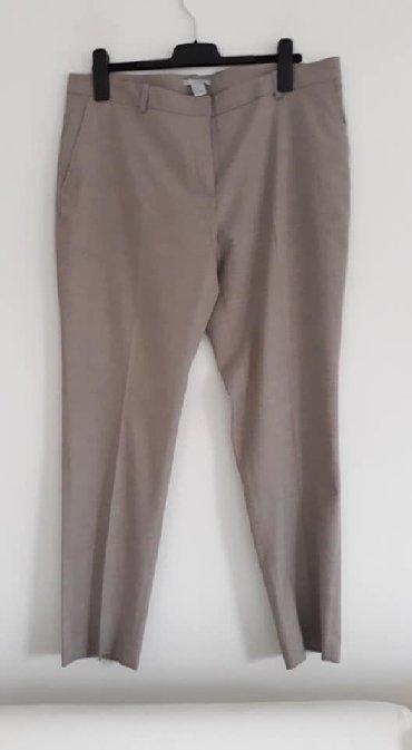 Pantalone-hm-duboke - Srbija: Pantalone HM 46 Novo cena 1100viskoza,elastin,poliesterboja bezsirina