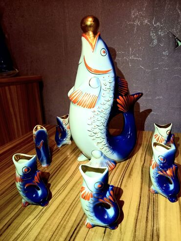 qədim əşyalar - Azərbaycan: Qədimi antik balıqlar işlənməyibEv satıldığı üçün əşyaları satılırReal