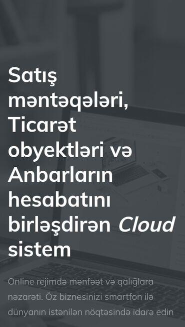 kompüter kürsüləri - Azərbaycan: Siz Cloud sistemini secmekle ticaret obyektleri ve anbarlarini idare e