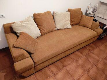 rabota za rubezhom iz kyrgyzstana в Кыргызстан: Продаю шикарный и стильный, большой раскладной диван! Производство