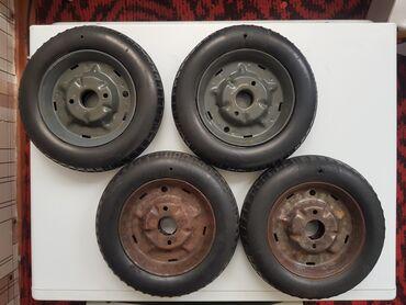 Колёса на педальный Москвич  Продаю четыре колеса на педальный Москвич