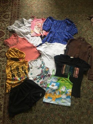 Летние вещи пакетом на девочку 10-12 лет Покупка без примерки и