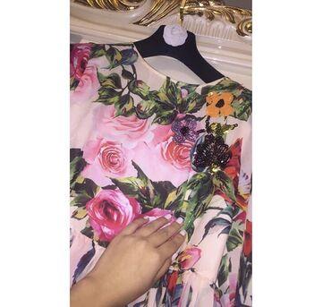 платье бохо батальных размеров в Кыргызстан: Красивое,воздушное Платье D&Gподклад и двойная юбка,размер