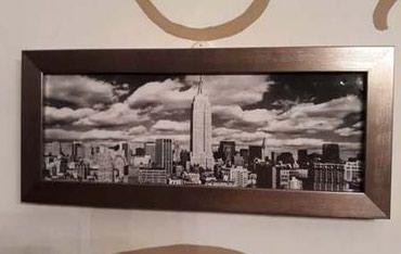 """Город """"Нью Йорк"""" фото декоративная в Бишкек"""