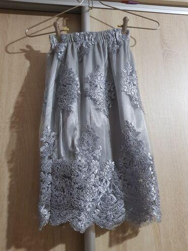 новые фасоны узбекских платьев в Кыргызстан: Платье двойка НОВАЯ 38 размер, хороший цвет, приятная к телу