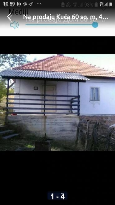 Nekretnine - Srbija: Na prodaju Kuća 60 kv. m, 4 sobe