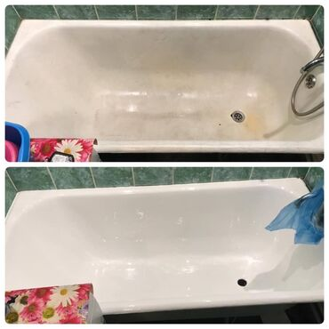 Эмалировка и ремонт ванн!!! С гарантией качества На рынке более 3 лет