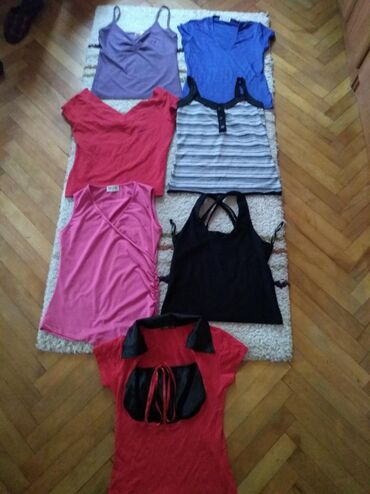 Paket ženska j majica,S/M-NOVO