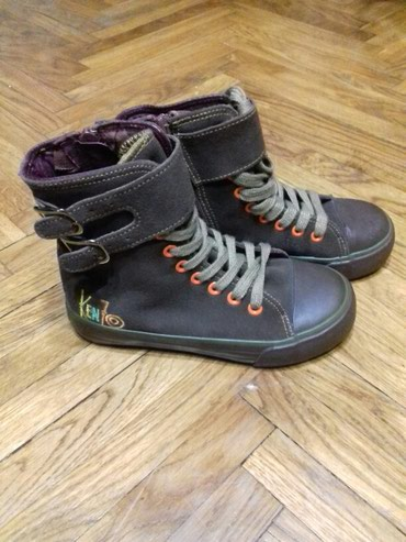Kenzo-Naturino, 31 broj. Nove duboke patike,cipele, cele kozne, unutra - Belgrade