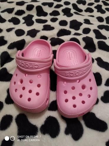 туфли как лабутены в Кыргызстан: Кроксы для девочек оригинал, состояние как новое, 22-23 размер