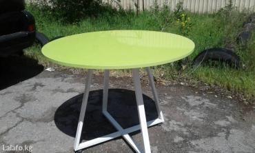 столы в упаковке в Кыргызстан: Столешница из акрила стол, стул, круглый стол
