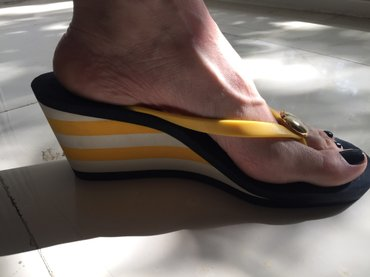 Juicy flip flops wedge . Σαν καινουργιες ! Αγορασμένες 120€ . Νο 40 .  σε Υπόλοιπο Αττικής - εικόνες 4