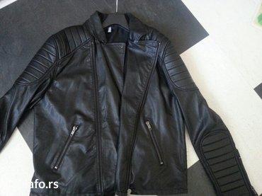 Kozna  muska jakna,  nova , H&M - Beocin