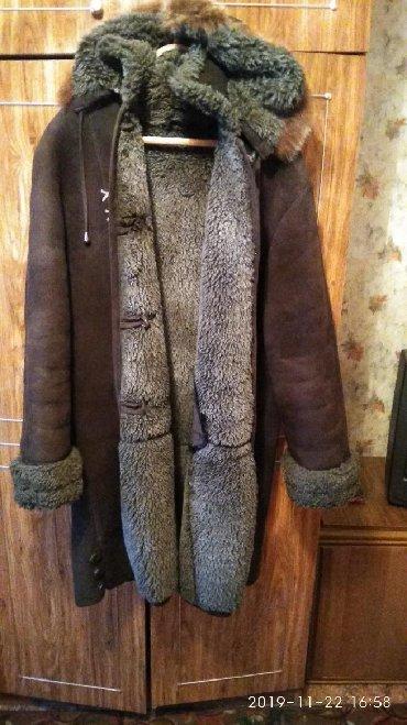 muzhskaja odezhda 60 godov в Кыргызстан: Женская дублёнка,раз 56-58,мужская куртка двухсторонняя,весна-осень