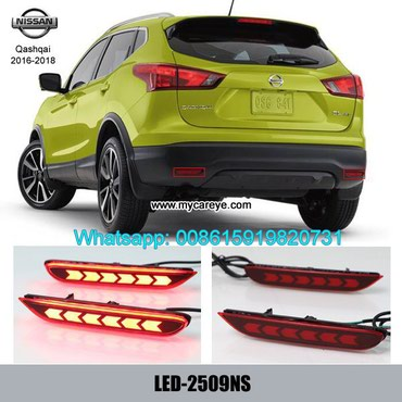 Nissan Qashqai Car LED Bumper lamps taillight brake Backup Lights in Tīkapur