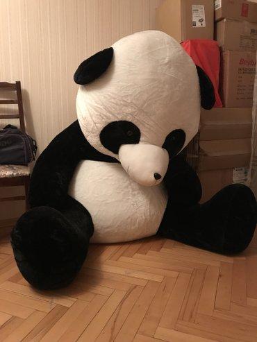 Bakı şəhərində Panda ayi oyuncagi,cox boyukdur,hundurluyu 125, tezedir,sadece yer yox