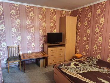 Продажа квартир - Бишкек: 104 серия, 1 комната, 36 кв. м Теплый пол, Бронированные двери, С мебелью