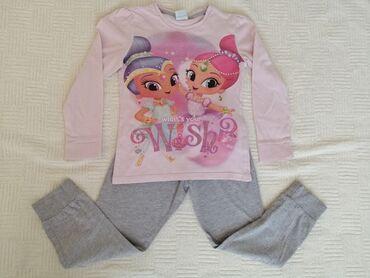 Svetlucava i Sjajna pamučna pidžama vel. 5 - 6 godPreslatka pamučna
