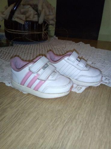 Dečija odeća i obuća - Sid: Patikice adidas kozne, ocuvane. Br. 22