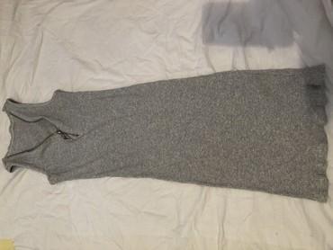 Siva mini haljina - Crvenka
