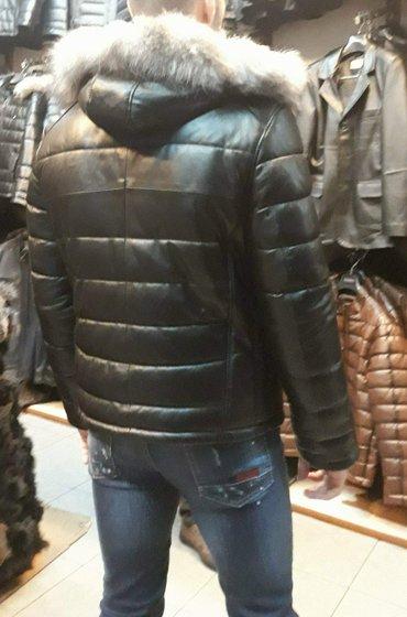 Gff - original - kozna jakna sa lisičijim krznom ( jagnjeća - Cacak